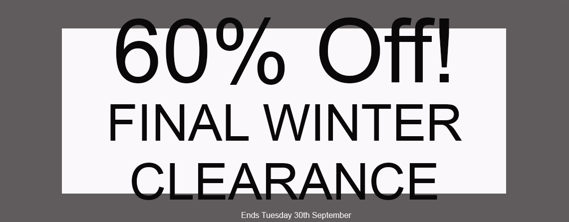 Final Winter Clearance